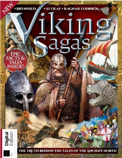 All About History - Viking Sagas - First Edition 2018