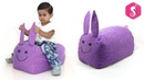 DIY Kids Bean Bag from Old Clothes - Kids TOYS - Sonali Creations