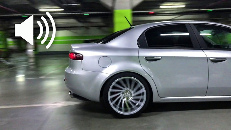 Exhaust crazy turbodiesel sound straight pipe cutout rev limiter accelerations AlfaRomeo 2 4JTD