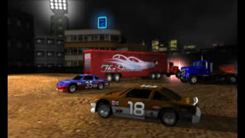 Destruction Derby 2 Intro (Sony PlayStation)