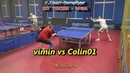TTSPORT forum Минин В. - Иванов П. (г.Ковров) table tennis battle vimin vs Colin01 настольный теннис