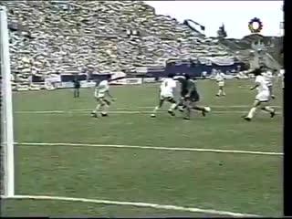 Последний гол Марадоны за Аргентину