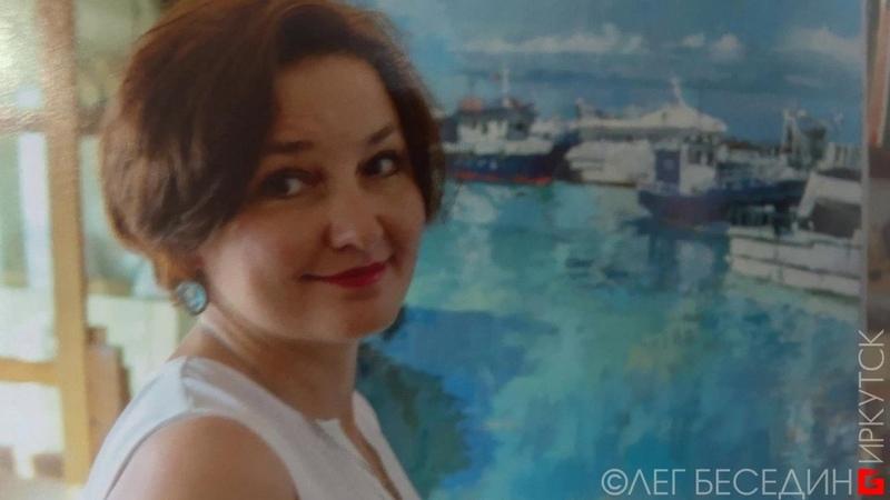 Выставка Регины Присяжниковой в галерее ДИАС, Иркутск © Беседин Олег