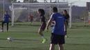 El Sevilla FC femenino afina su preparación para la importante cita del domingo ante el Madrid CFF