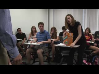 Girl has to poop during class, you wont believe what happens next