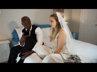Codi Vore (Banging the Bride) Big Natural Tits, Interracial, Cheating, Hairy, Blowjob, Cum On Tits, Cunnilingus