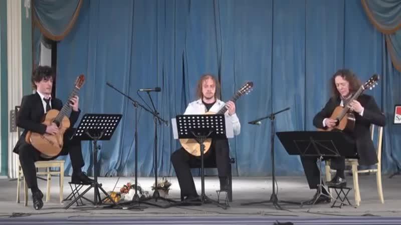 Сергей Кравчук фуга для трио гитар