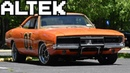 This 1969 Dodge Charger Dukes of Hazzard General Lee Replica is One Bad Ass Muscle Car