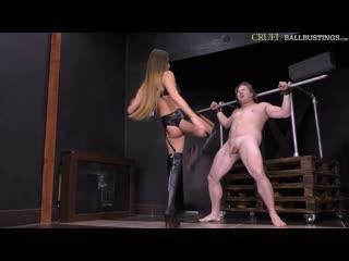 Cruel ballbustings - amanda vicious ballbusting femdom mistress