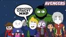 Мстители новые герои (МЕМЕ Avengers)