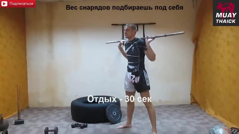 Железо для бойца - комплекс по физподготовке для единоборств (Муай Тай, ММА, бокс) ;tktpj lkz ,jqwf - rjvgktrc gj abpgjlujnjdrt