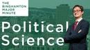 Binghamton Major Minute Political Science