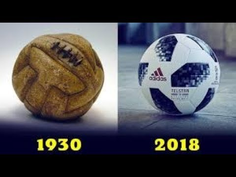 Мячи Всех Чемпионатов Мира По Футболу (1930-2018) Эволюция футбольного мяча
