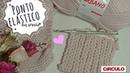 Ponto Elástico em crochê ♥ Super Fácil ♥ Parece tricô mas não é