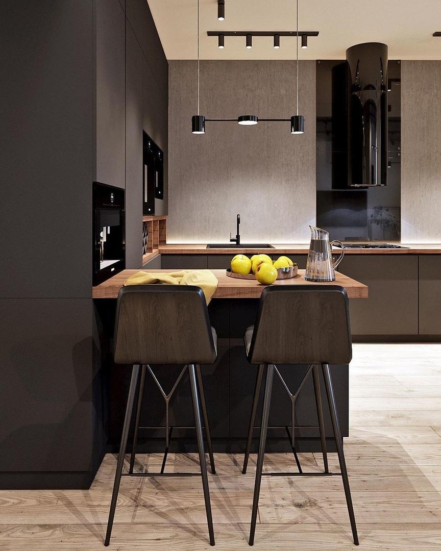 Дизайн-проект двухуровневой квартиры (145м²)