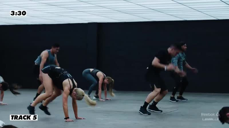 WORK OUT LIKENINA - Full 30-minute LES MILLS GRIT Cardio Workout