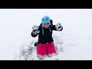 ЗИМА в АМЕРИКЕ Завалило снегом! НАШ УТРО в ВОСКРЕСЕНЬЕ Едем в бассейн КАКОЙ ЗЕЛЕНЫЙ ЧАЙ ПЬЮТ в США