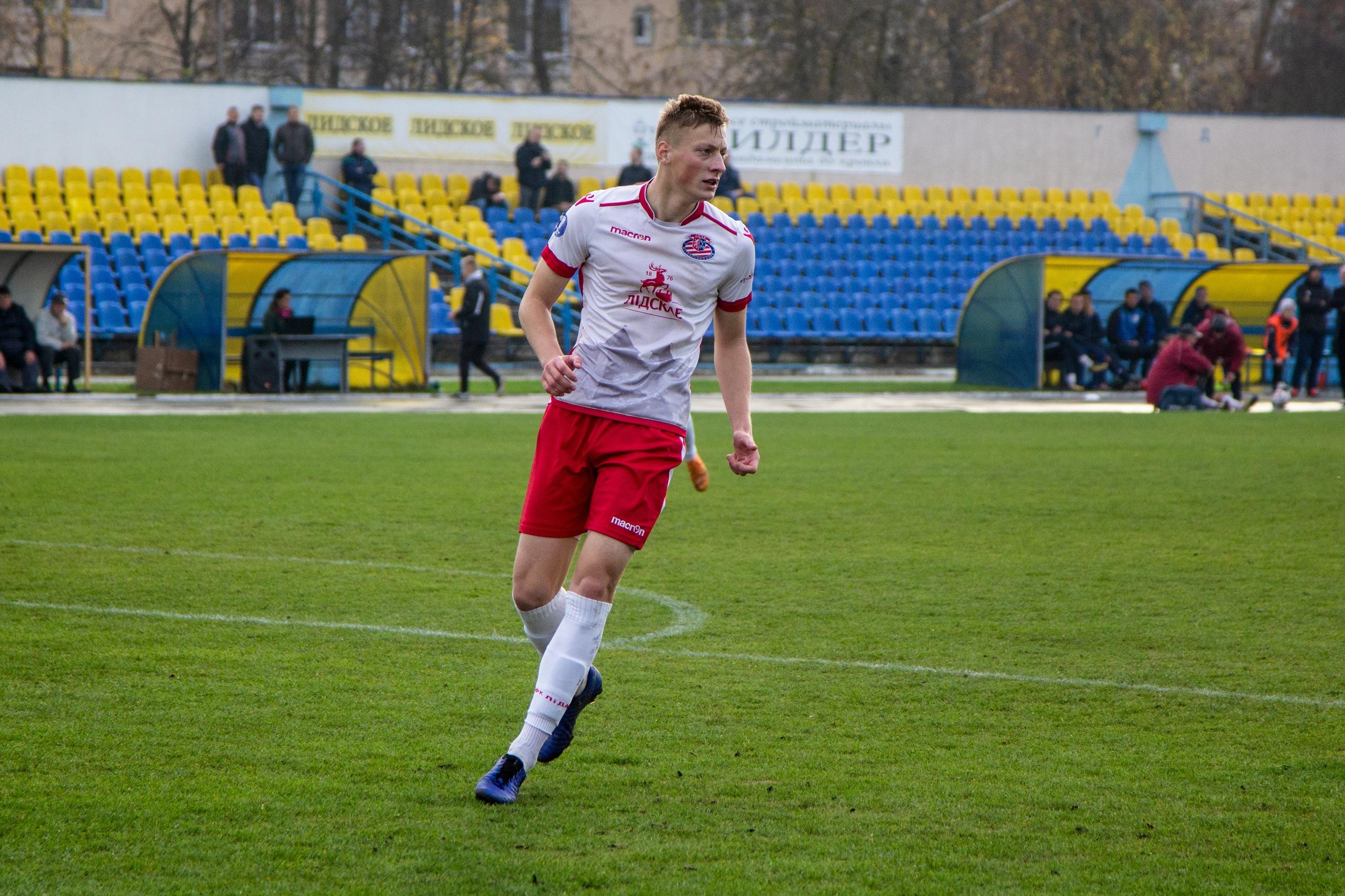 Футбольный клуб «Лида» провел матч 26-го тура чемпионата страны в первой лиге.