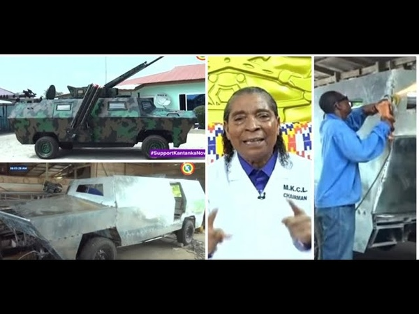 Check out the making of Apostle Safo's made in Ghana Armored car from Start that will blow your mind