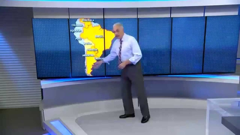 William Waack e o novo mapa