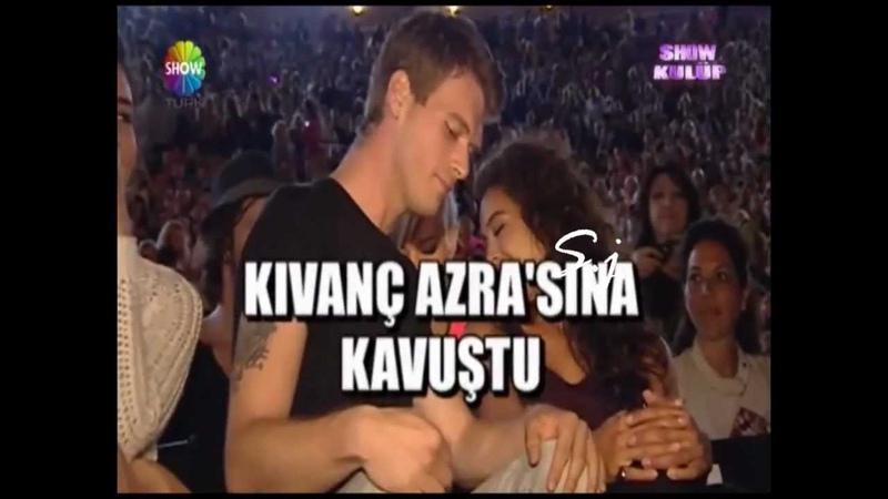 Kivanc inTarkan concert 2 9 حضور كيفانج تاتليتوغ حفل تاركان2012