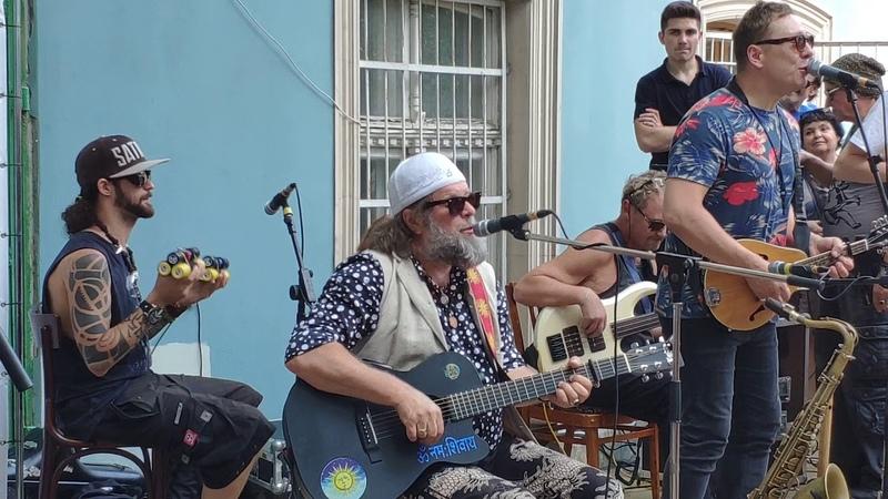Уличный концерт в Одессе, 16 июня 2019 - Бог зимогоров