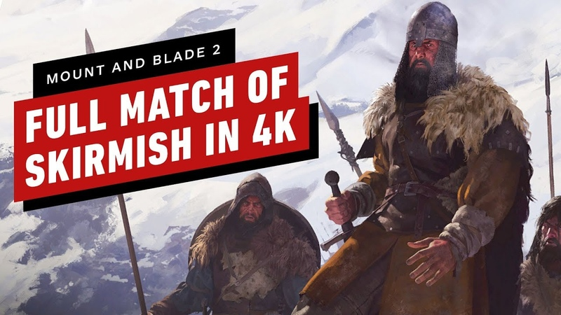 Mount and Blade 2 Bannerlord - A Full Match of Skirmish 4K60