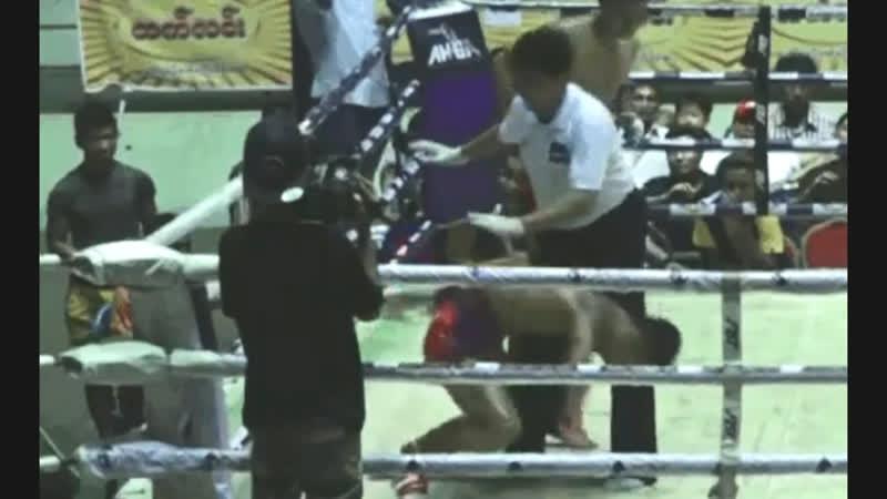 Бирманский бокс летвей глухой нокаут Club Challenge Fights