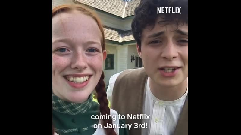 Anne with an E, coming to Netflix January 3rd.