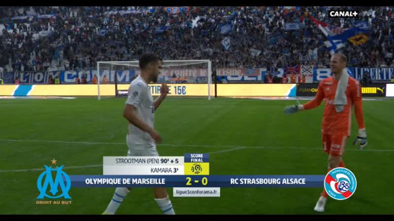 OM vs Strasbourg 2-0