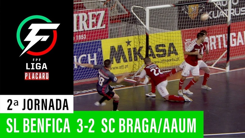 Liga Placard: SL Benfica 3 - 2 SC Braga / AAUM