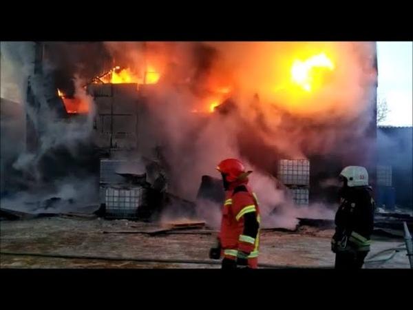 Большой пожар на Сортировке