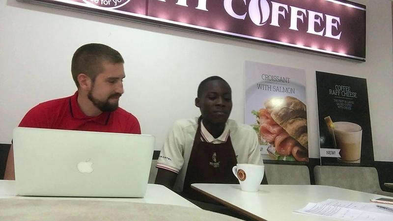 Как открыть кофейню в Африке (Тренинг бариста в Нигерии, Лагос)