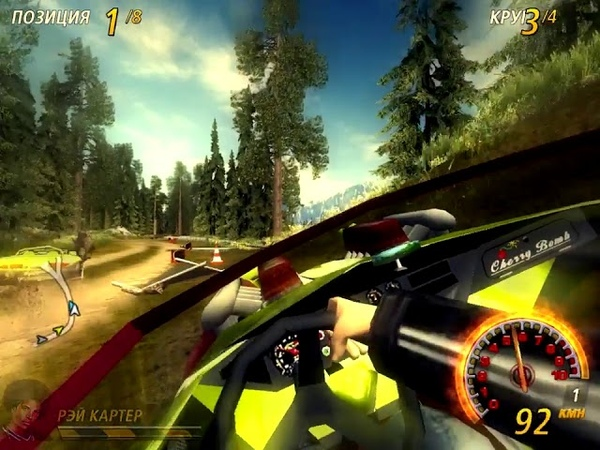 FlatOut 2. Most Wanted - Twin Mill - Timberlands 1