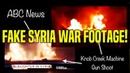 Faked Syrian War Video Trump Murder Meme