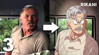 ЕСЛИ БЫ РОССИЙСКИЕ СЕРИАЛЫ БЫЛИ АНИМЕ 3 (анимация)