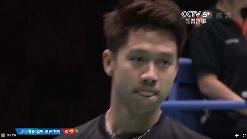 Kevin Sanjaya Sukamuljo Marcus Fernaldi Gideon vs Yuta Watanabe Endo Hiroyuki Asia Badminton 2019