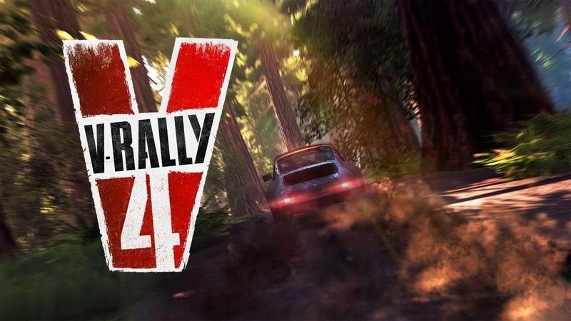 V Rally 4 Хорошие гонки для руля и геймпада 🎮 Анонс WRC 9 трейлер когда покажут геймплей