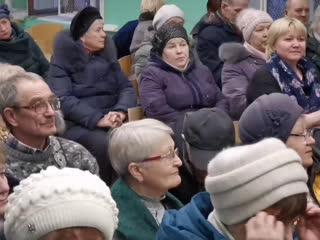 Встреча главы администрации города Мурманска Е.В.Никоры с жителями района Абрам-Мыс