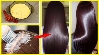 Лечение волос. Рябиновая Маска для Получения ИДЕАЛЬНЫХ Волос
