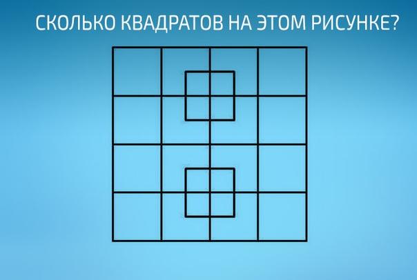 Сколько квадратов на картинке бугага