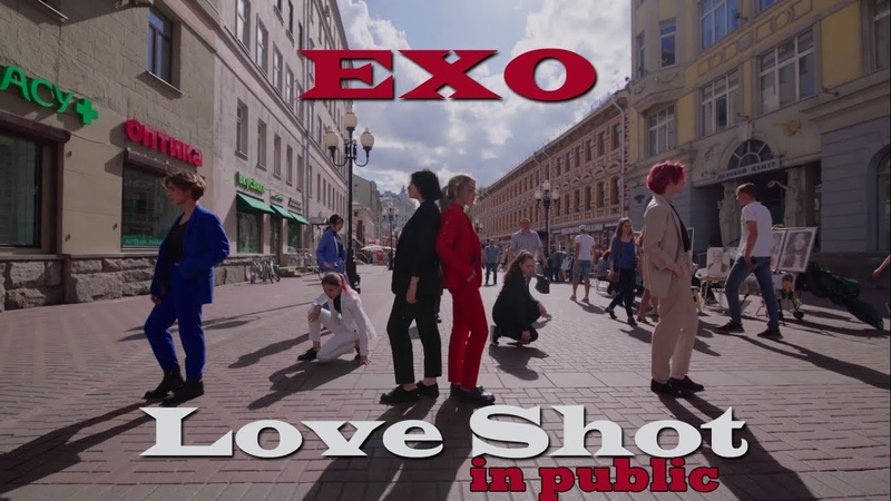 [K-POP IN PUBLIC RUSSIA] EXO - Love Shot dance cover by REBIRTH