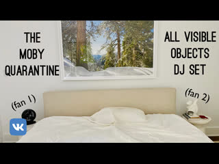 The Moby Quarantine 'All Visible Objects' DJ Set   Love Record Stores Day