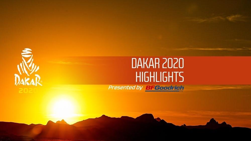 Основные моменты ралли Дакар 2020 (видео)