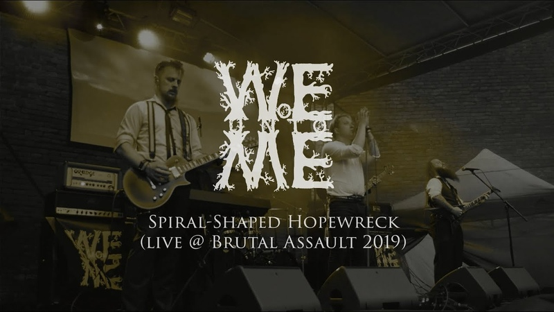 Woe Unto Me Spiral Shaped Hopewreck live @ Brutal Assault 2019 NEW SONG