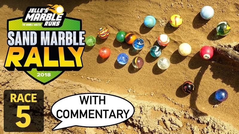Jelle's Marble Runs Sand Marble Rally 2018 Race 5