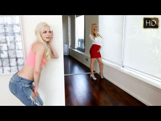 Elsa Jean, Alexis Fawx - From Now On You Are My Bitch [1080p, Porn, Teen, Blonde, Sex, Lesbian, Licking, Strapon] - Dyked