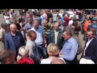 Сергей Левченко  о ситуации с паводком, выплатах пострадавшим