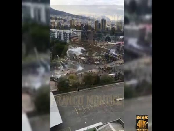 Que todo el mundo vea esta masacre en Ecuador. Policias engañan y efectúan una emboscada a indígenas