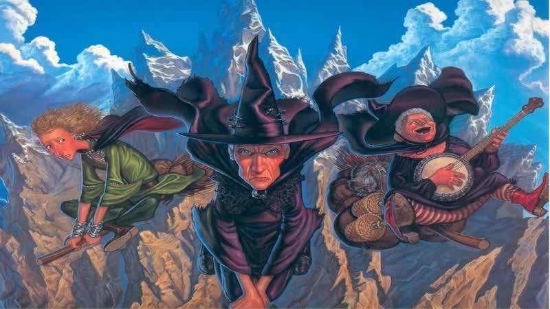 Терри Пратчетт Плоский мир Ведьмы за границей 1 2